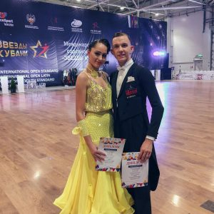 Sasha & Mie i International Open i Krasnodar, Rusland