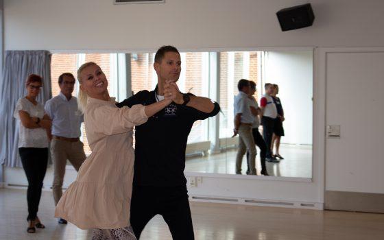 Fra på mandag danser vi på alle Vild med Dans hold