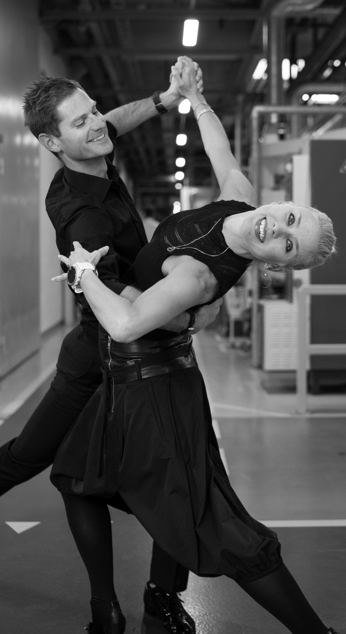 Hilsner fra vores dansere :-)
